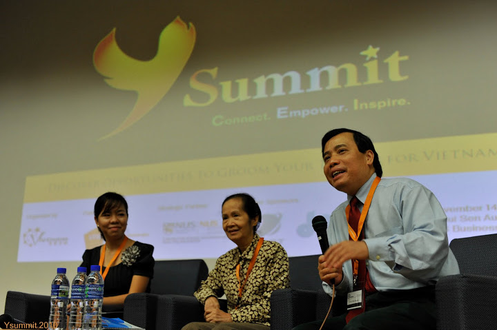 Ysummit 2010 - The roles of Youth in Vietnam's development